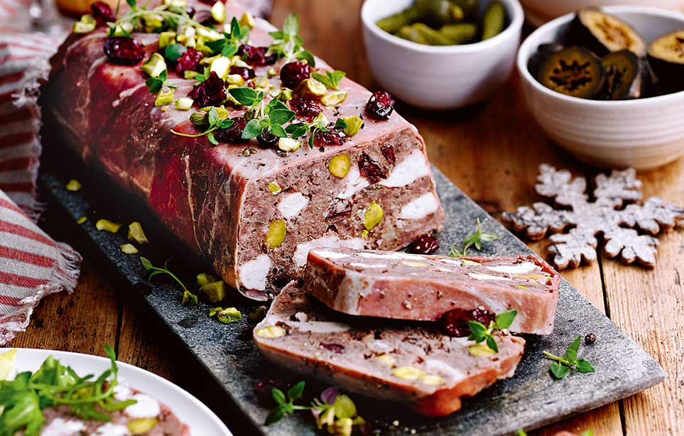 How to make a Christmas terrine