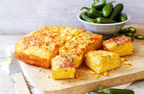 Cornbread with chilli