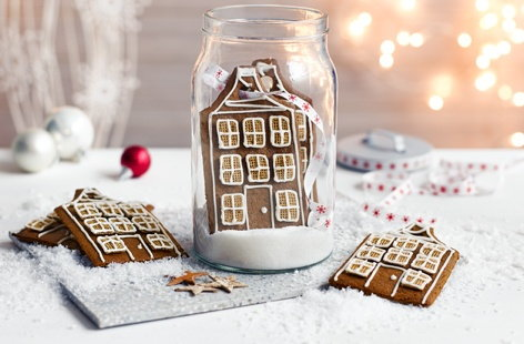Gingerbread Townhouse