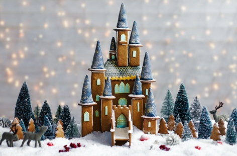 Gingerbread Fairytale Castle