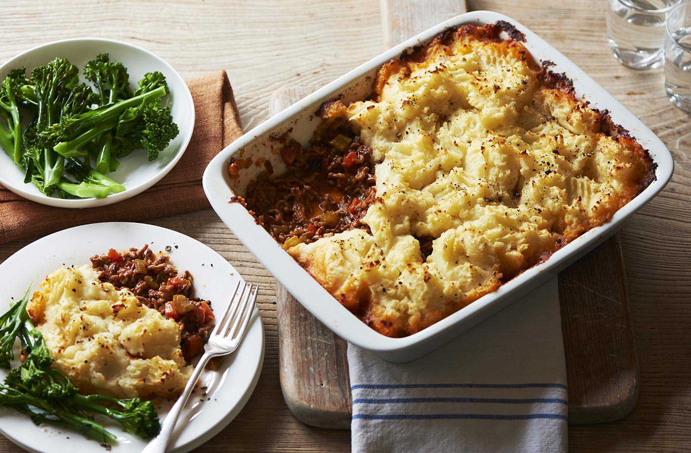Shepherd S Pie Recipe Comfort Food Recipes Tesco Real Food