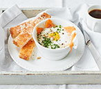 Baked Eggs Smoked Salmon | Breakfast In Bed | Tesco Real Food