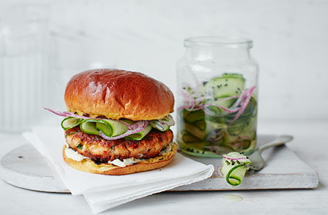 TescoWinter40 24SalmonBurger2 146x128
