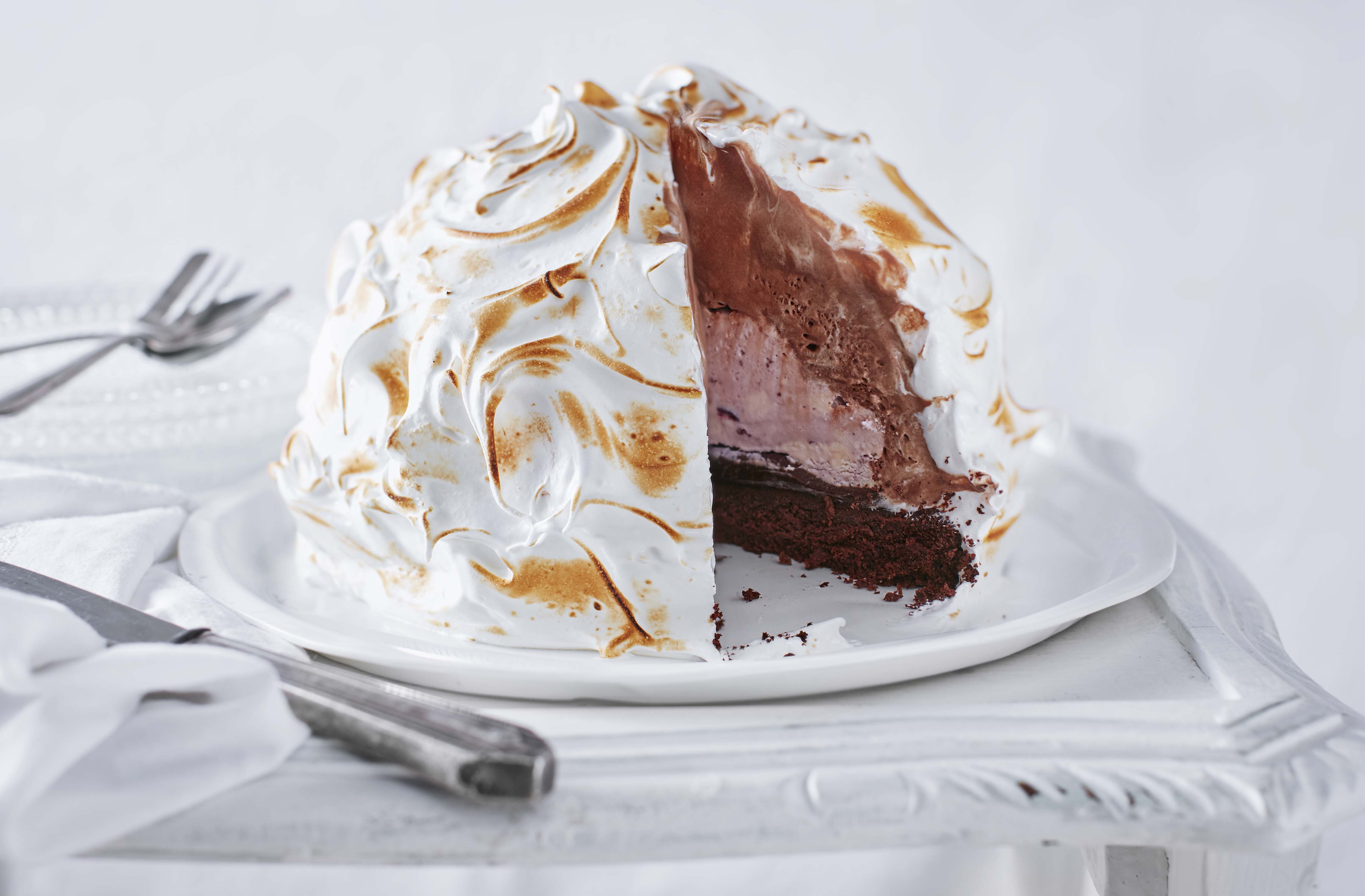 How to make baked Alaska