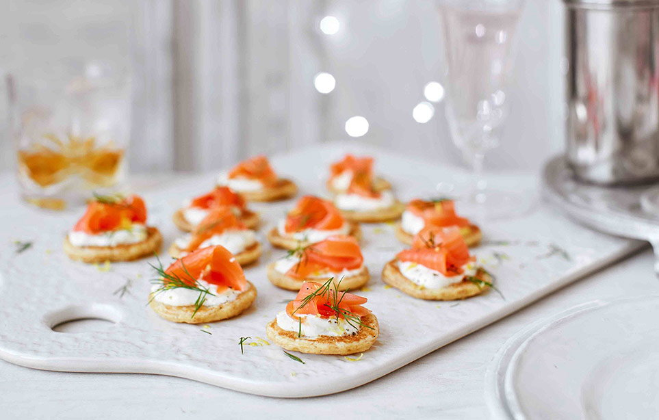 Build creative canapés