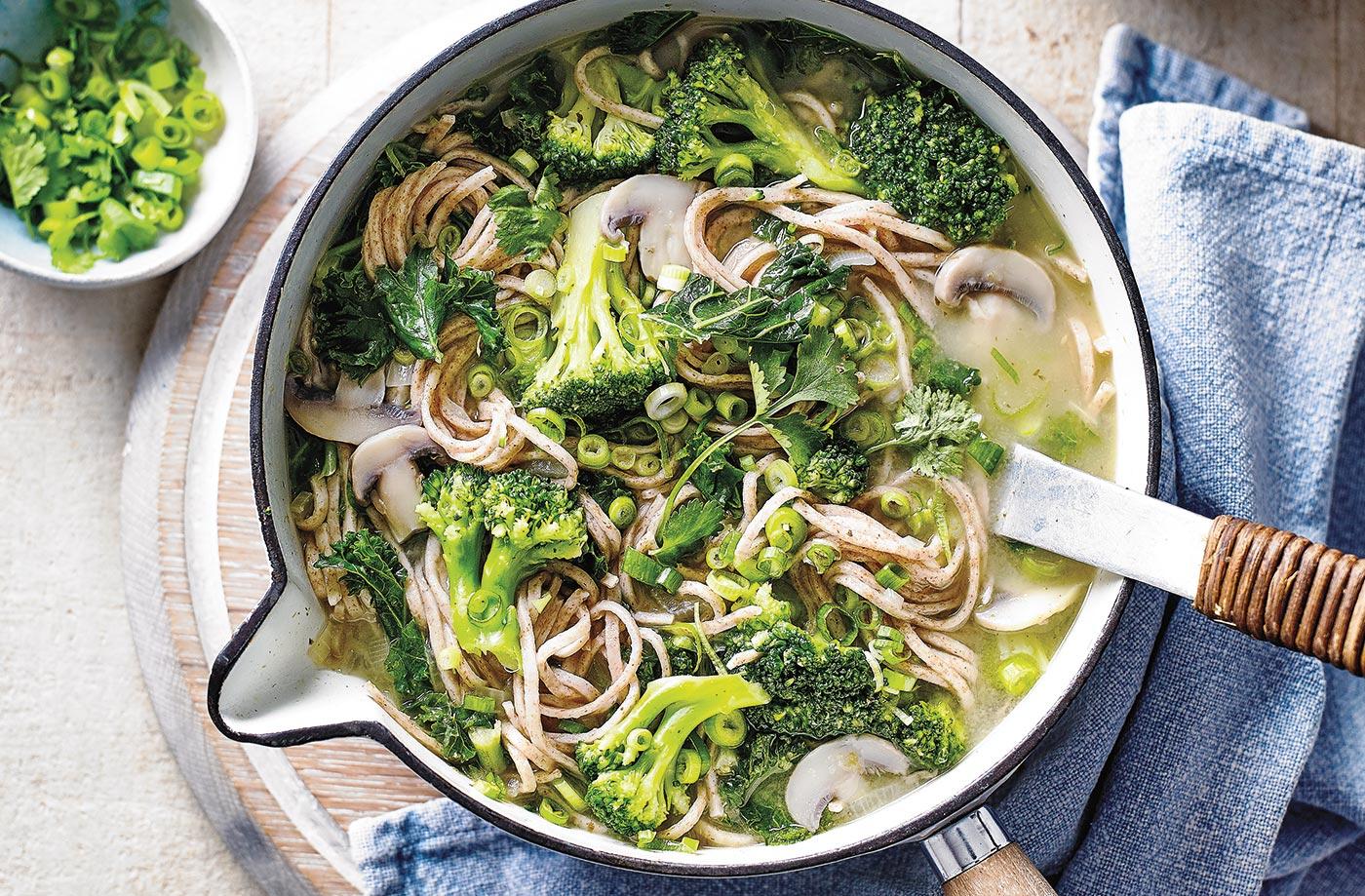 Thai Green Noodle Bowls