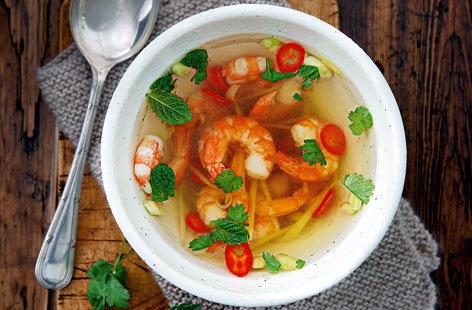 how to make tom yum soup without paste