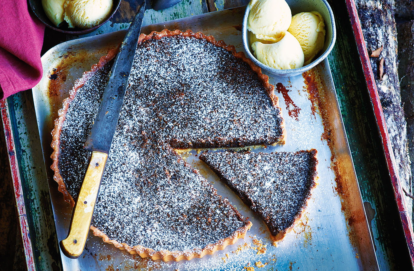 Treacle toffee tart recipe