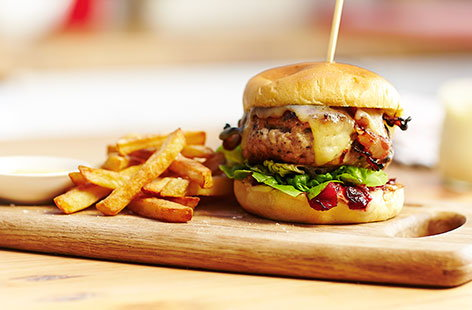 Turkey Burger H