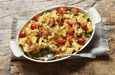 Hearty, rich and creamy, macaroni cheese is a comfort food classic, and this clever vegan mac and cheese recipe ensures it can still be enjoyed on a dairy- and egg-free vegan diet
