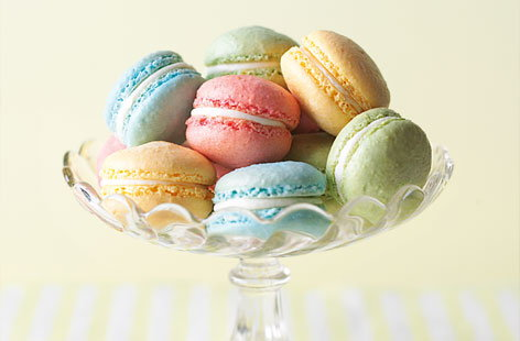 How to make vanilla macarons
