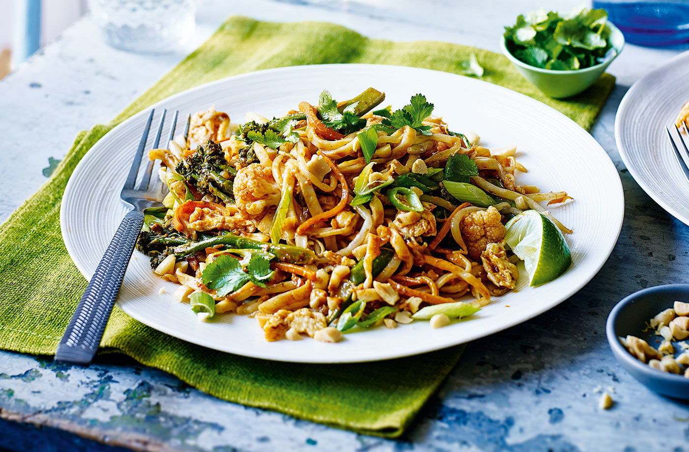 Vegetarian Pad Thai Tesco Real Food