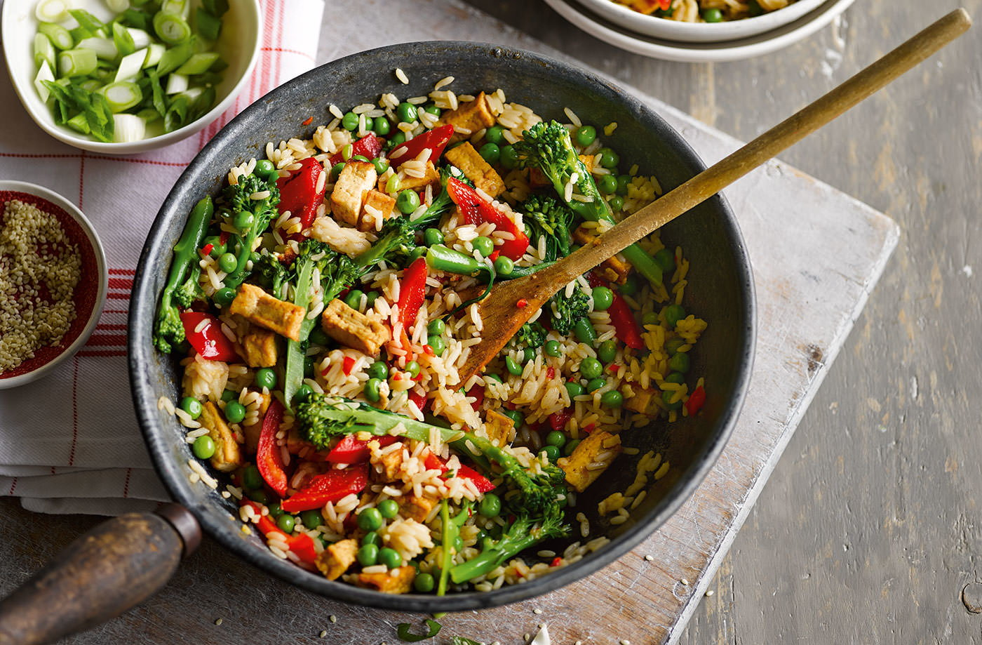 Veggie rice bowl recipe vegetarian recipes tesco real food forumfinder Gallery