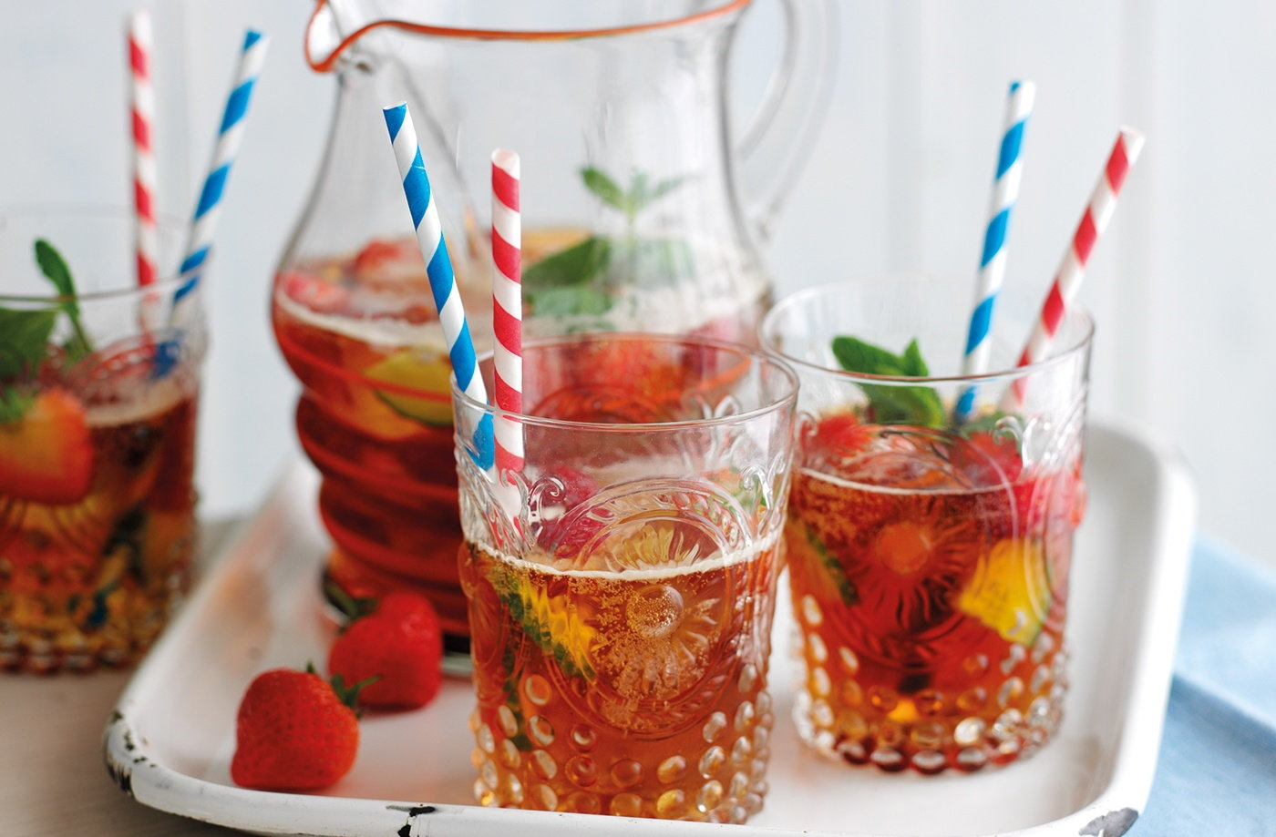 Very berry Pimm's recipe