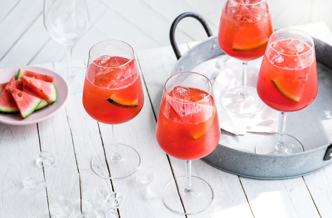 Watermelon spritz  recipe