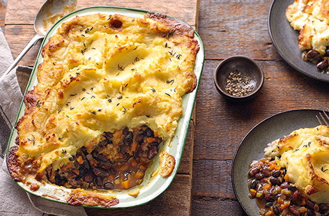How to make a veggie cottage pie