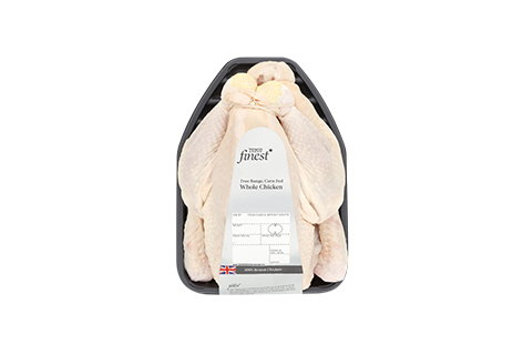 Tesco Finest British Cornfed Free Range Whole Chicken