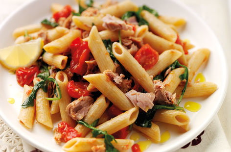 Wholewheat Tuna Pasta (h)