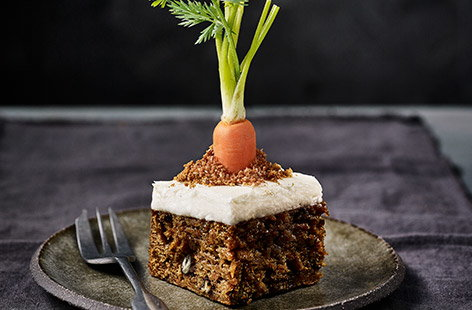 This take on luscious carrot cake by plant-loving chef Derek Sarno is the ultimate vegan Easter treat