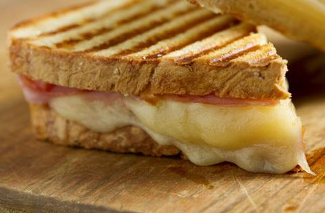 cheese and ham toastie