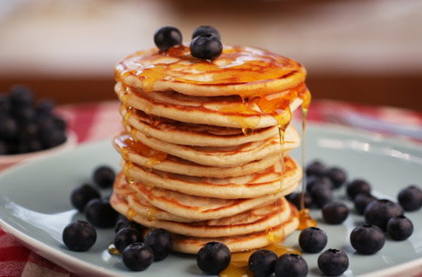 Light, fluffy and loved by both adults and children alike, American pancakes are a real breakfast treat