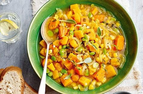 Autumn succotash | Tesco Real Food