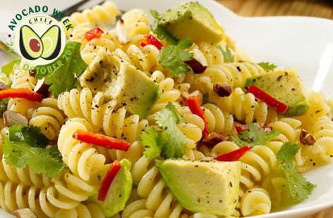 avocado fusilli hero