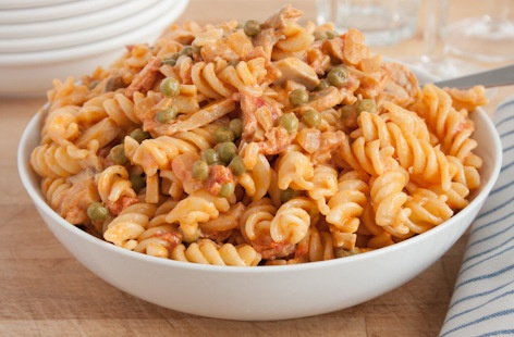 bacon and mushroom pasta main