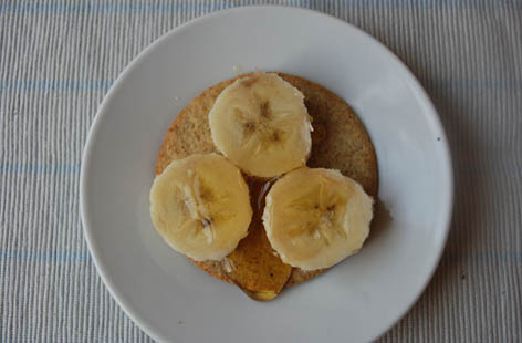 banana & honey oaty booster