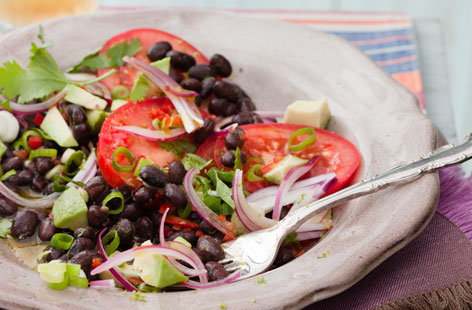 blackbean avacado salad HERO