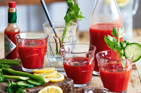 Wake yourself up with this beautiful British bloody Mary drink. - The perfect brunch cocktail