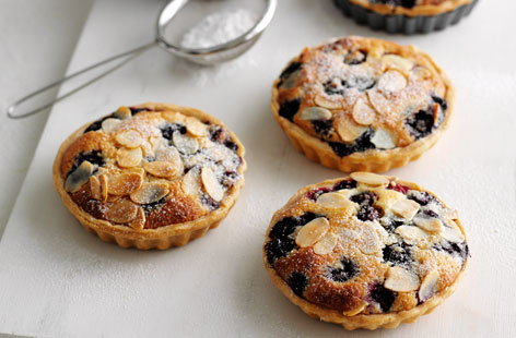 blueberry frangipane tarts HERO
