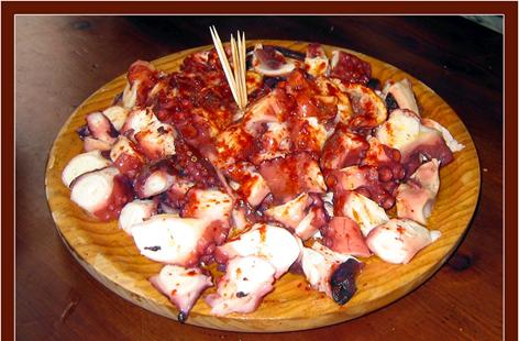 octopus galician style
