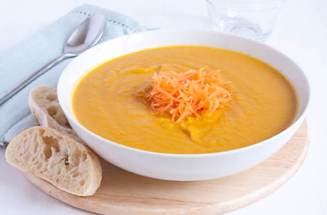 carrot cumin soup 1