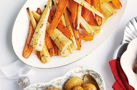 carrots parsnips honey THUMB
