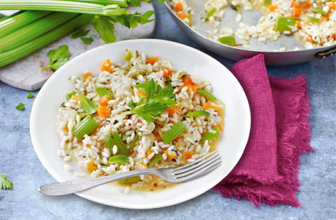 celery risotto (H)