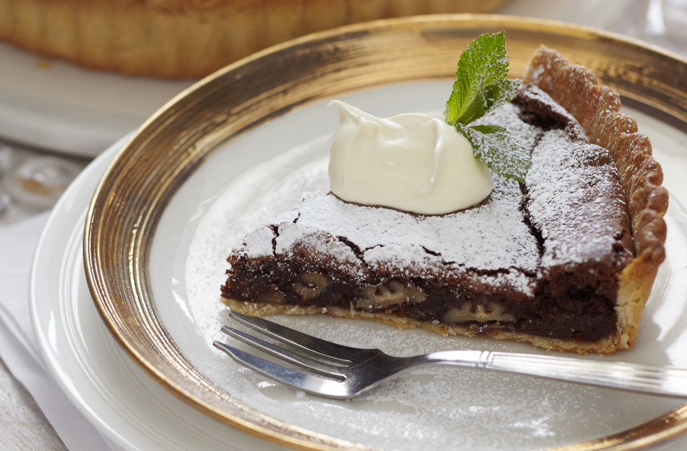 Chocolate tart | Tesco Real Food