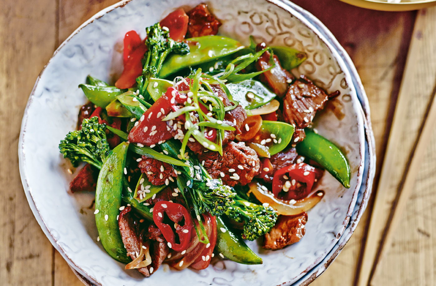 Chinese Beef And Vegetable Stir Fry Tesco Real Food