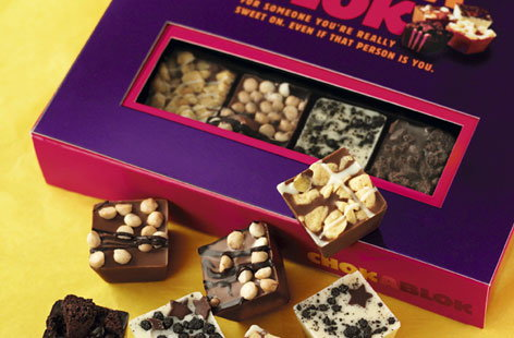 At ChokaBlok we started our move into chocolate with our delicious Easter eggs and now our chefs have been mixing and swirling the luxury and indulgence we ... & ChokaBlok chocolate bloks and gift box | Tesco Real Food Aboutintivar.Com