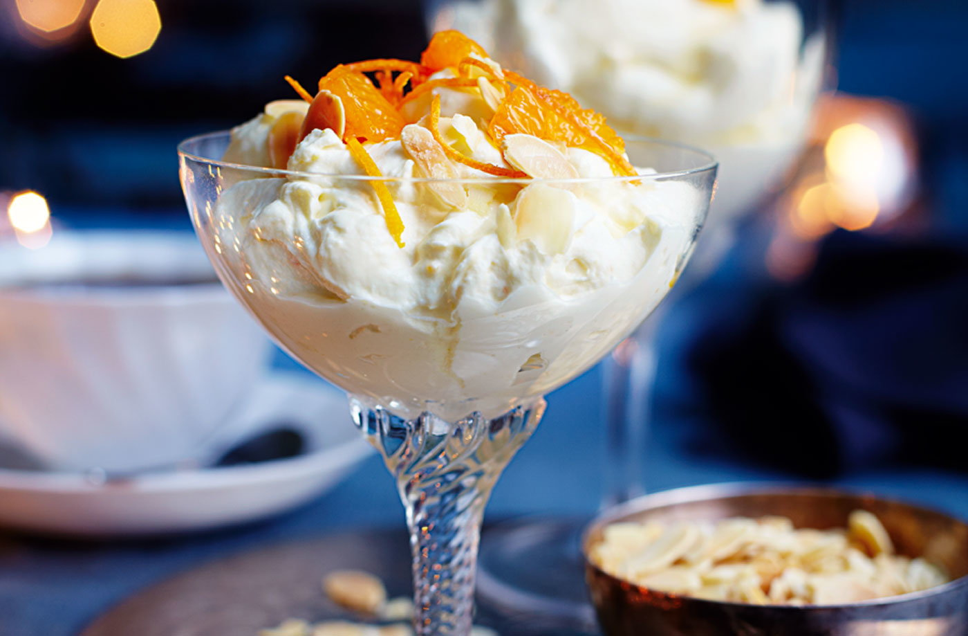 Citrus syllabub recipe