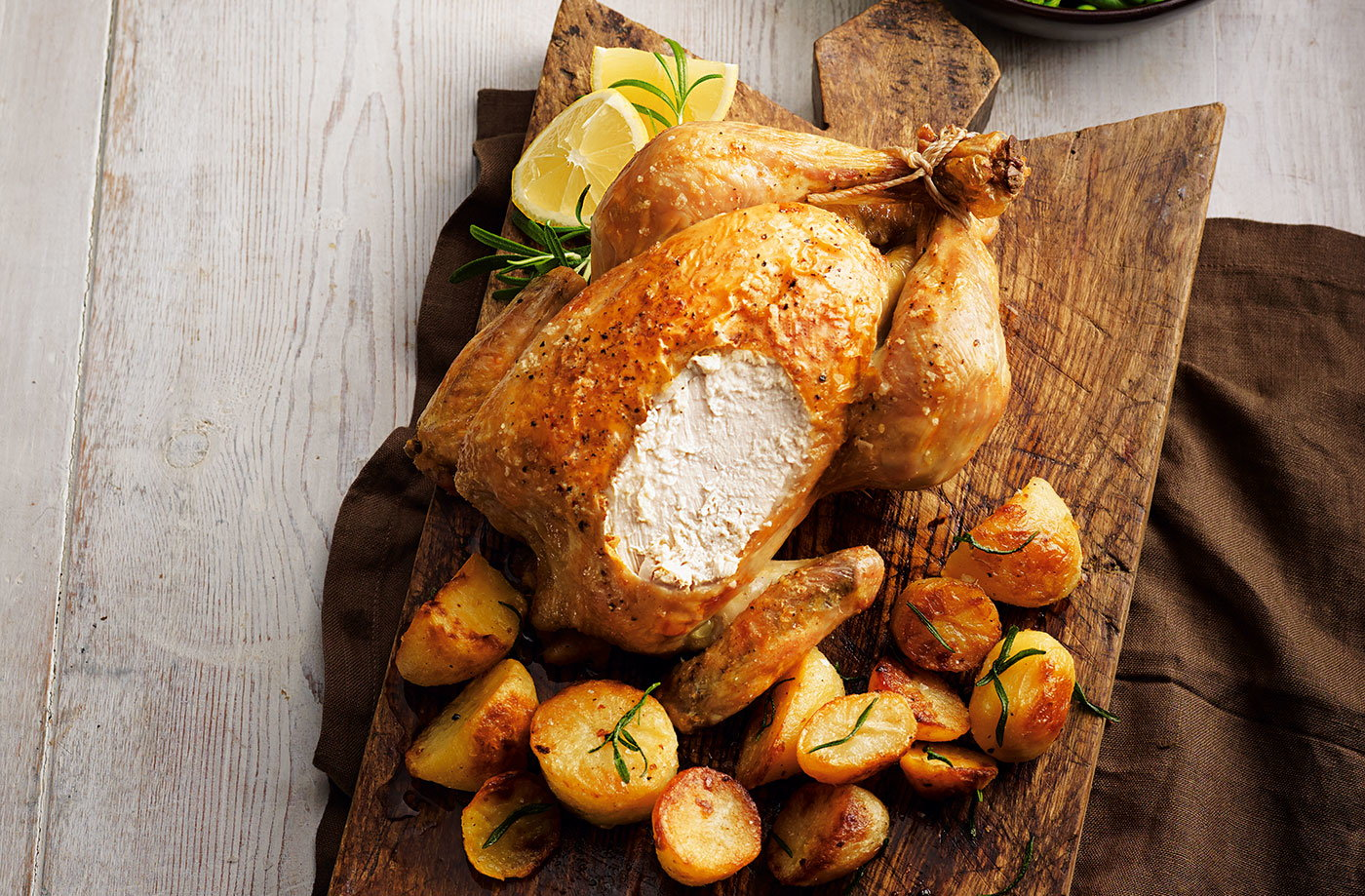 Classic roast chicken | Tesco Real Food