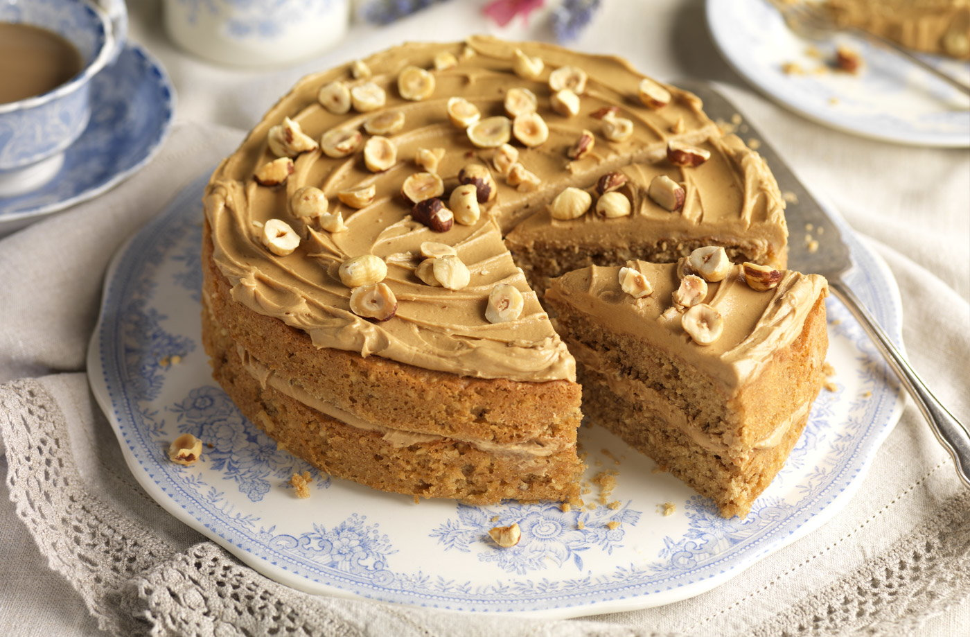 Tesco Finest Coffee Cake