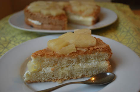 cordon bleu pineapple cake