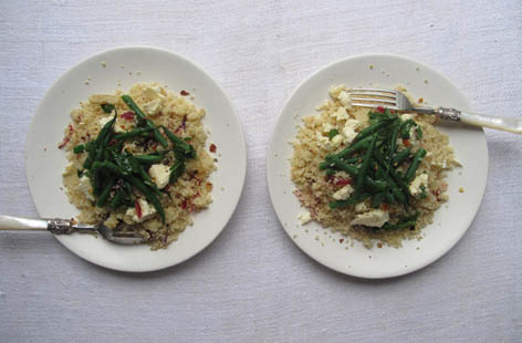 coucous and cheshire cheese