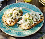 crab and fennel bruschetta(t)