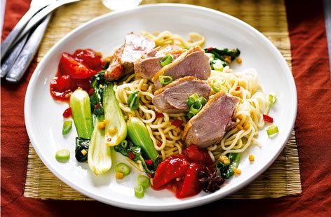 duck breast noodles20048(T)