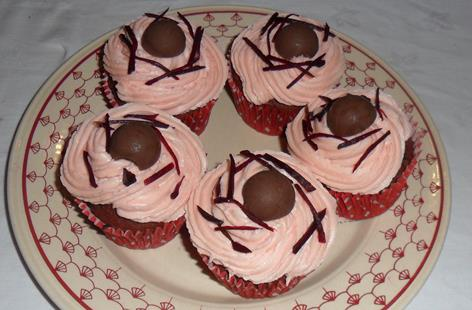 Chocolate Beetroot Cup Cakes