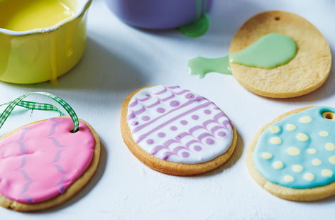 easter egg biscuits(h)