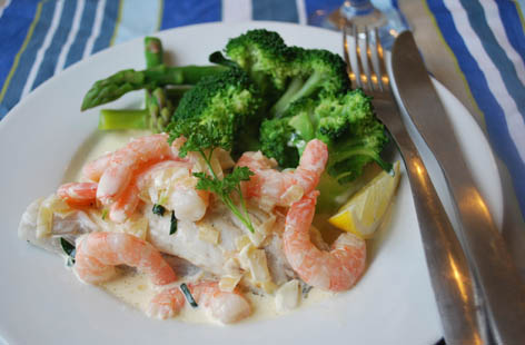 easy healthy fish supper