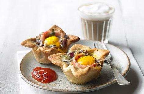 egg bacon tart thumb